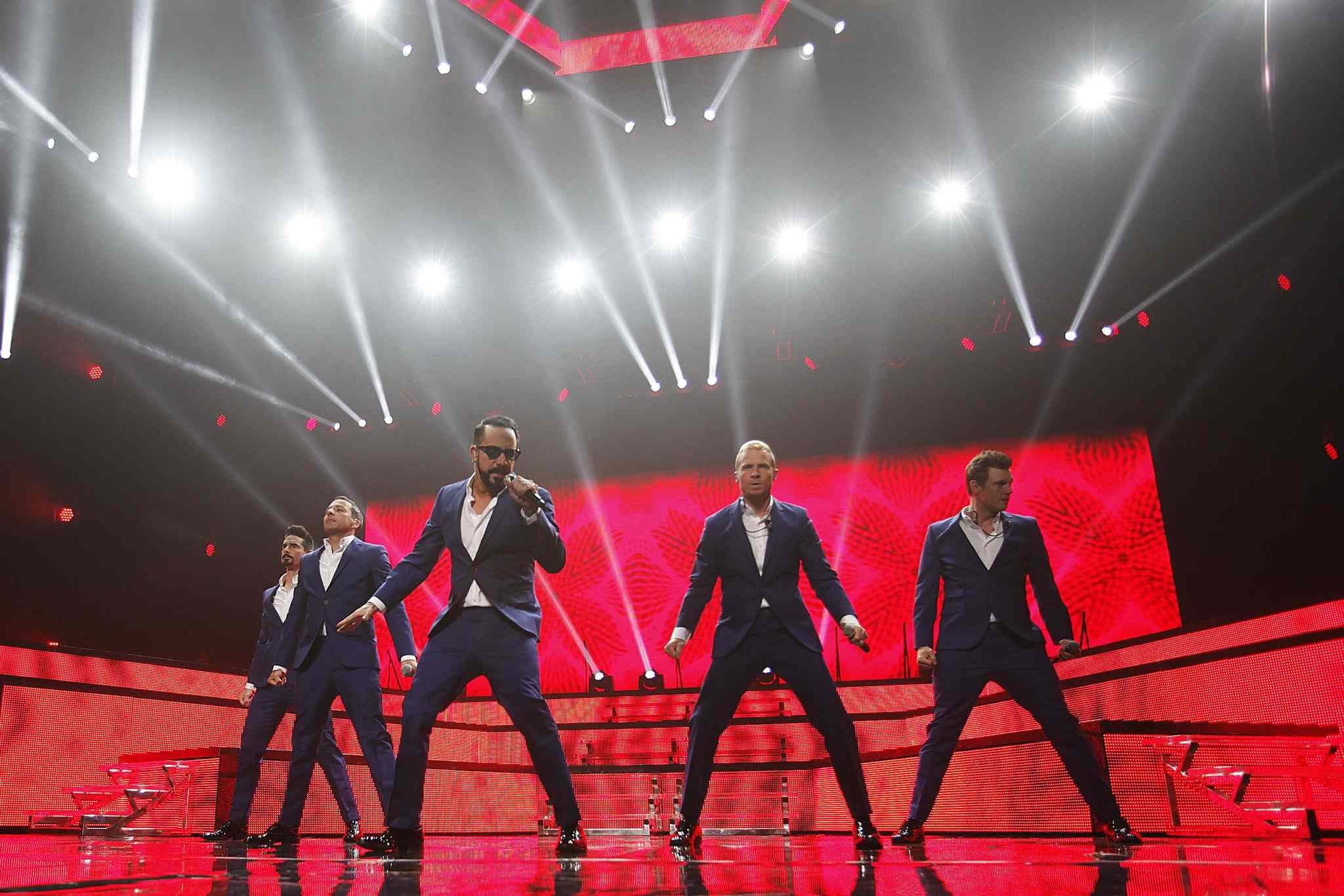 The Backstreet Boys were in fine form at the MTS Centre Sunday night.
