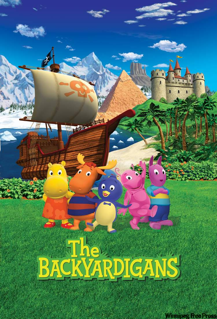 backyardigans sell out pantages add another show winnipeg free
