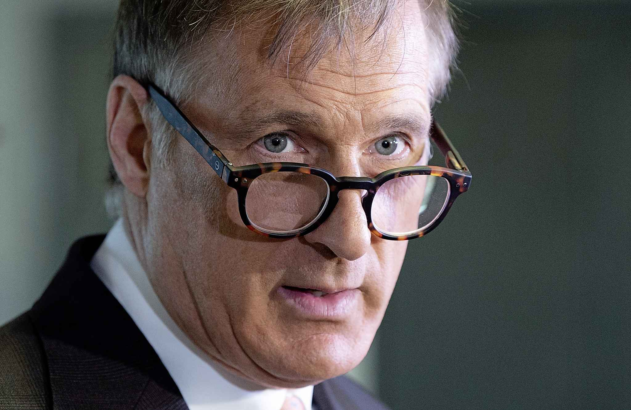 Maxime Bernier is a politician who does not know how to say die, even when the odds are stacked against him. (Adrian Wyld / The Canadian Press files)