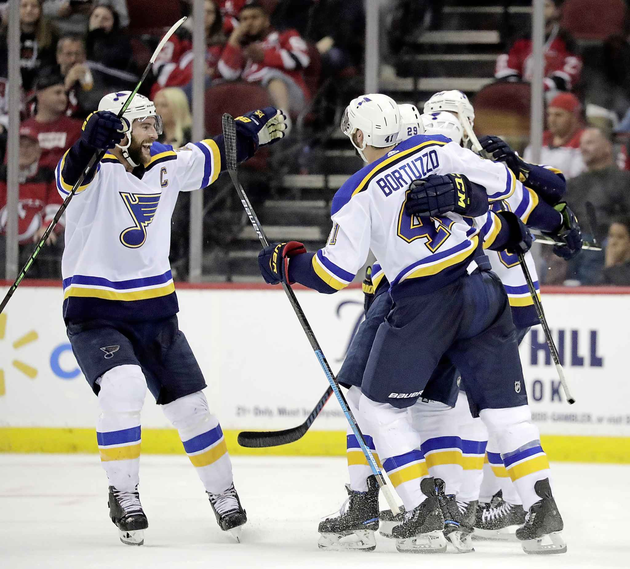 The Jets and St. Louis Blues are currently tied for second spot, so the Jets have to mirror what the Blues do Saturday to get home-ice advantage when the playoffs start, potentially against the red-hot team. (Julio Cortez / The Associated Press files)