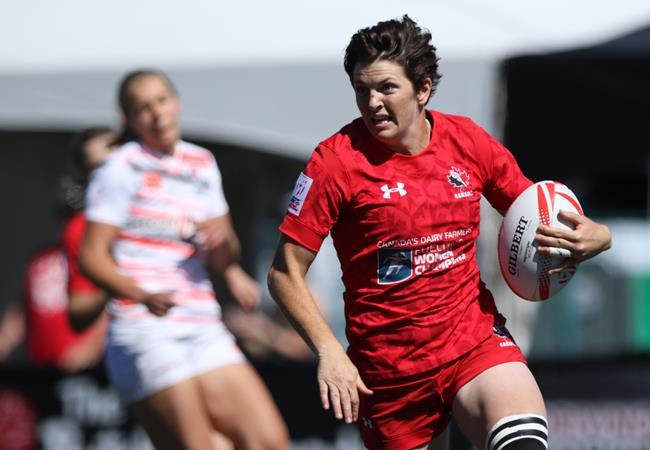 Canada's women open rugby 7s with drubbing of Brazil