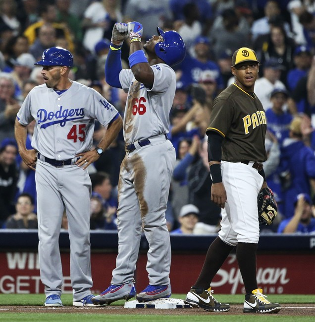 Dodgers shut out Padres in incredibly hot start