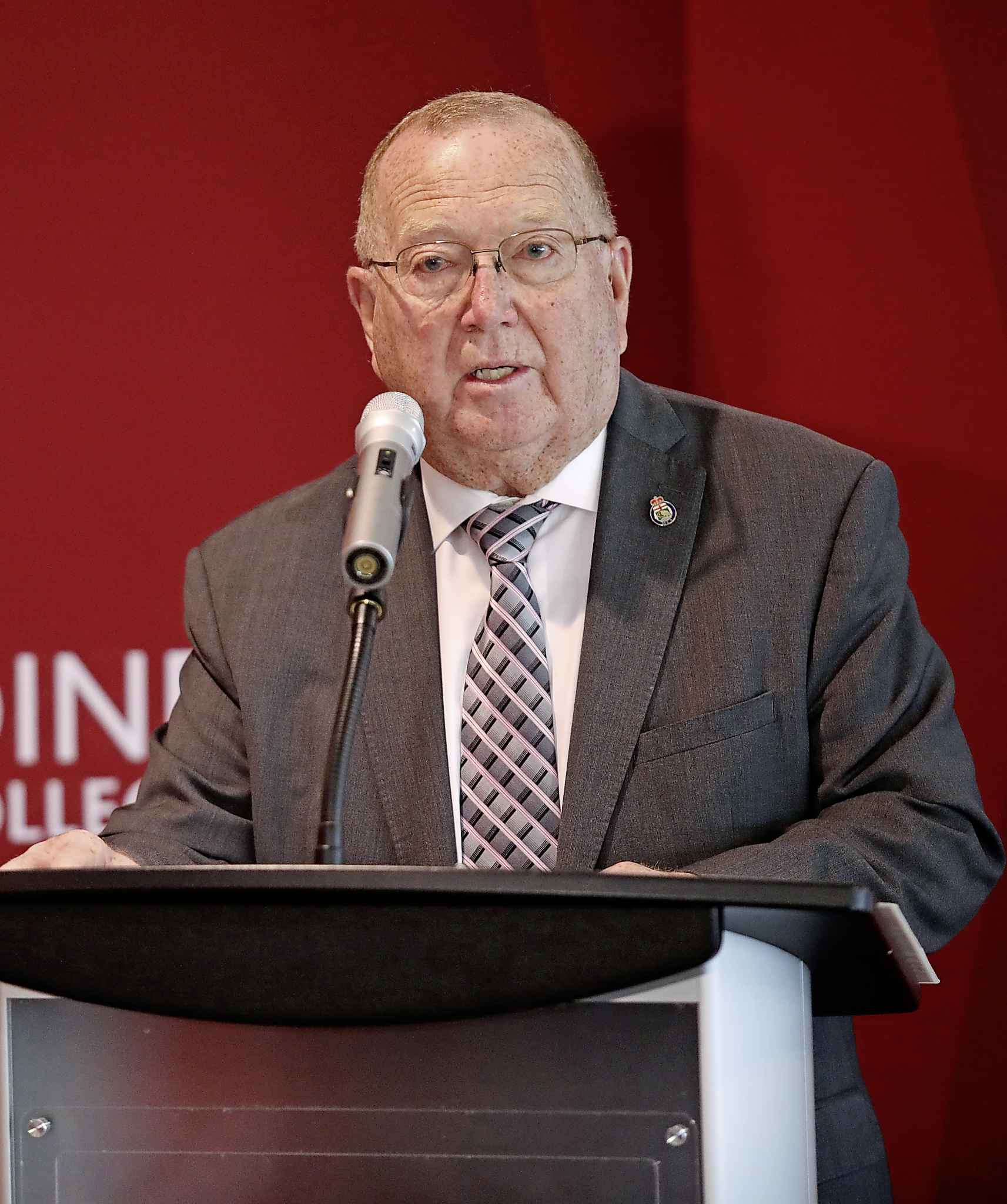 Provincial Agriculture Minister Ralph Eichler thinks the Trudeau government hasn't done enough to resolve the country's trade issues with China.
