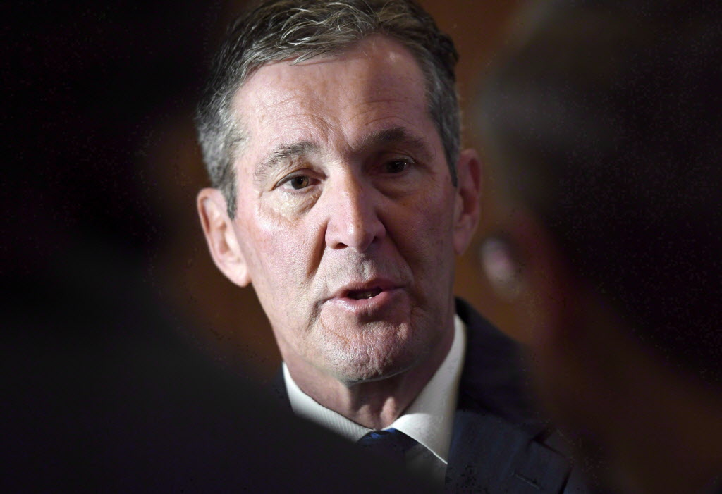 """Manitoba Premier Brian Pallister says """"we haven't seen any plan from the federal government on which programs (it will pursue)."""""""