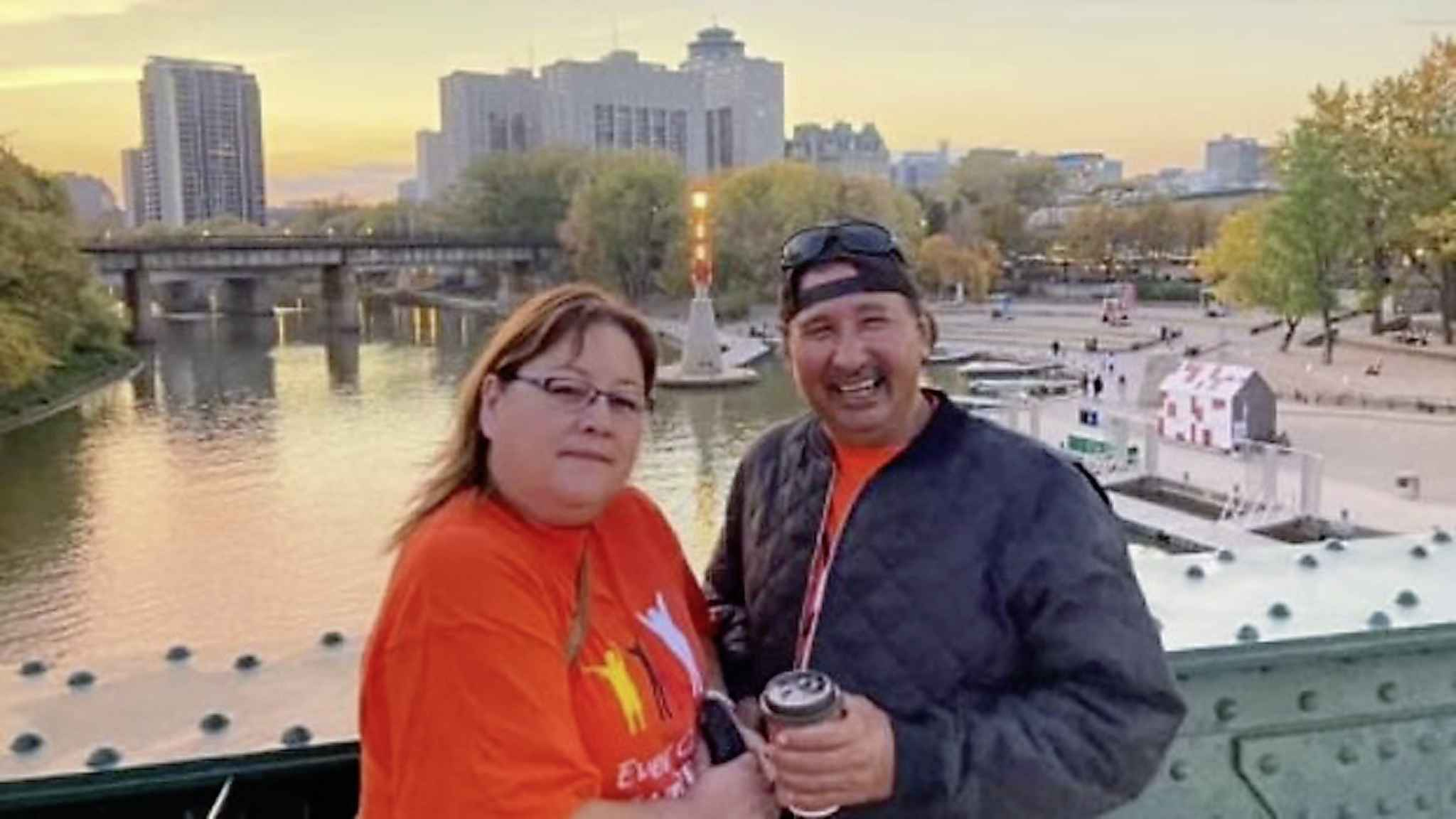 Family of Bernice Catcheway, pictured here with her husband, Wilfred, are asking for prayers for her full recovery from COVID-19. (Submitted by Willie Starr)