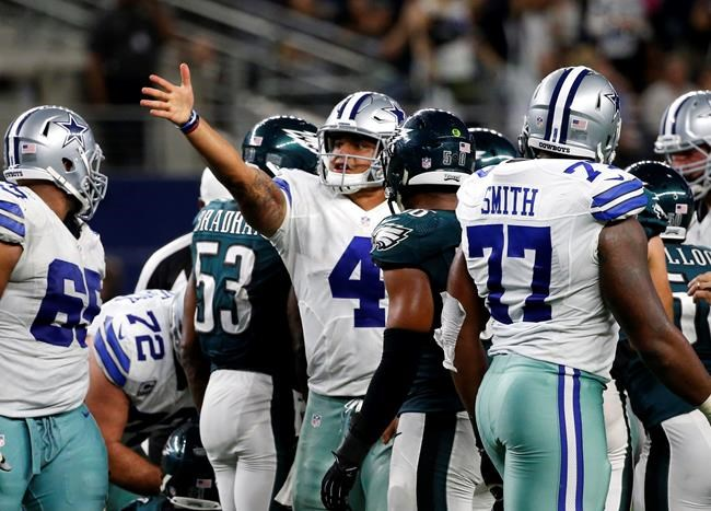 Cowboys down Eagles in overtime