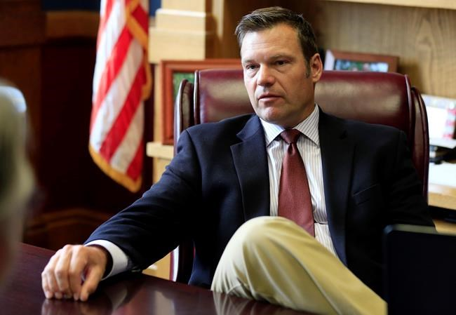 Kris Kobach launches campaign for governor