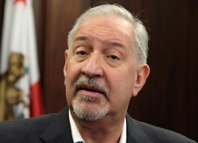 """FILE - This Sept. 2, 2016 file photo shows attorney Mark Geragos talking to the media during a news conference in downtown Los Angeles. Two brothers who said they helped Jussie Smollett stage a racist and homophobic attack against himself are suing the """"Empire"""" actor's attorneys including Geragos, for defamation. A lawyer for Olabinjo Osundairo and Abimbola Osundairo filed the federal lawsuit Tuesday April 23, 2019, in Chicago. (AP Photo/Richard Vogel, File)"""