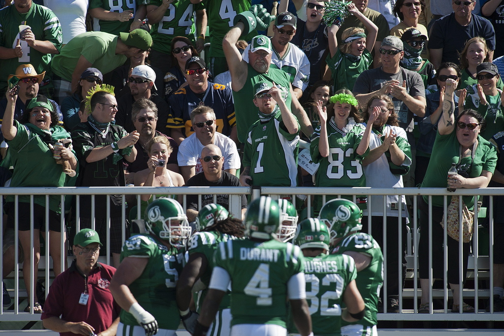 The CFL is a gate-driven league and needs fans in the stands. (Liam Richards / The Canadian Press files)