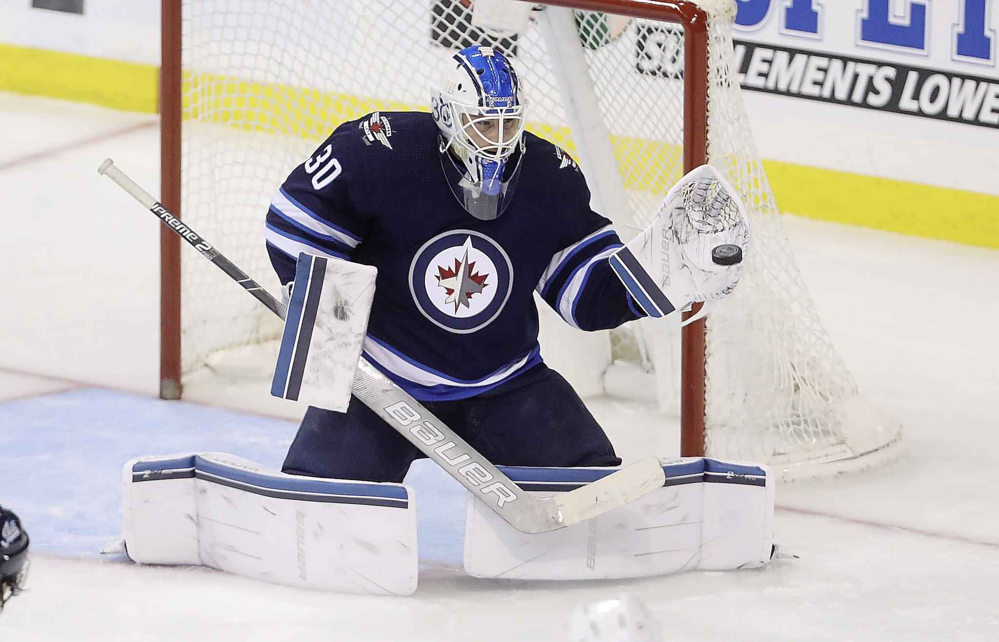 Winnipeg Jets goaltender Laurent Brossoit came to Winnipeg in the off-season as a free agent to try and get his career back on course after a few less-than-stellar seasons in Edmonton.