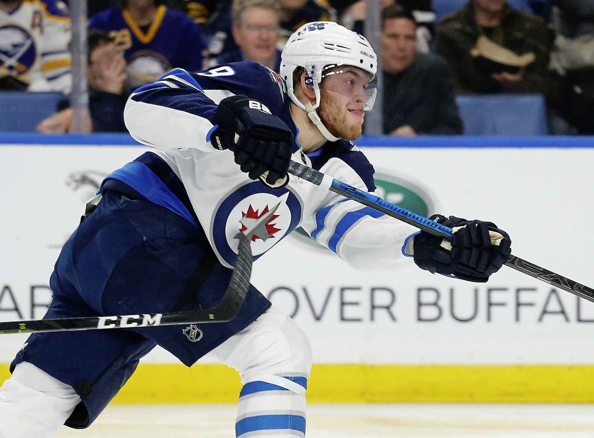 Winnipeg Jets forward Andrew Copp was a healthy scratch by head coach Paul Maurice in the Jets season-ending Game 5 loss to the Vegas Golden Knights in the Western Conference final last year.