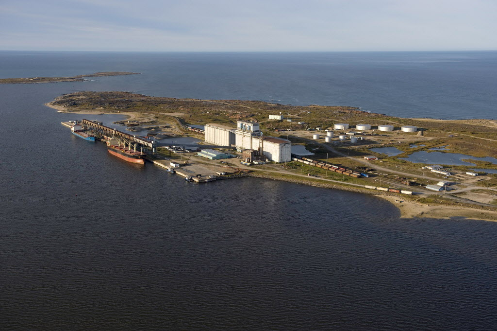 Omnitrax says it has all the approvals in hand to start running oil trains to the Port of Churchill (above), starting this summer.