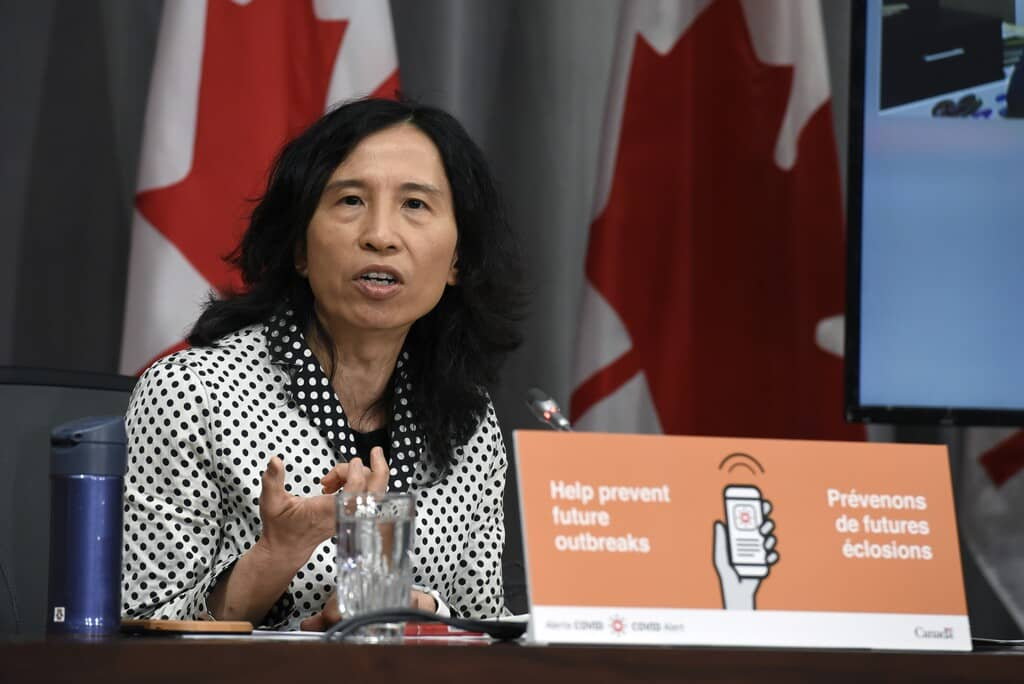 Chief Public Health Officer of Canada Dr. Theresa Tam