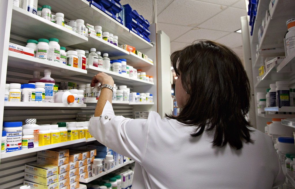The entire country is limiting prescription drugs to a single month to help reduce the effects of a global drug shortage. (Jacques Boissinot / The Canadian Press files)