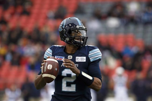 The Saskatchewan Roughriders signed backup quarterback James Franklin.