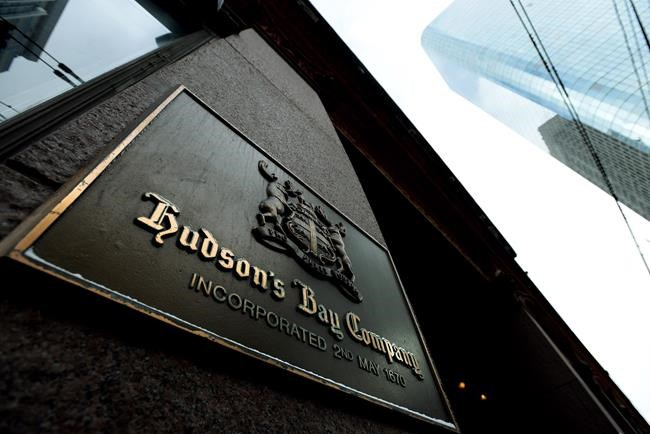 The board of Hudson's Bay Co. has agreed to a sweetened takeover offer by a shareholder group led by executive chairman Richard Baker. A photograph the downtown Toronto flagship Hudson Bay Company store in Toronto on Monday, Jan. 27, 2014. THE CANADIAN PRESS/Nathan Denette