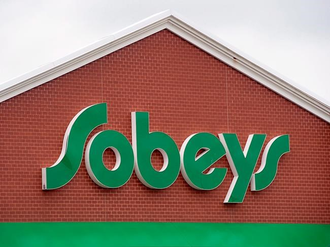 A Sobeys store is seen in Dartmouth, N.S. on June 27, 2013. Empire Company Ltd. reported a first-quarter profit of $95.6 million, up from $54.0 million a year ago. The parent company of Sobeys says the profit amounted to 35 cents per share for the quarter ended Aug. 4 compared with a profit of 30 cents per share in the same quarter last year. THE CANADIAN PRESS/Andrew Vaughan
