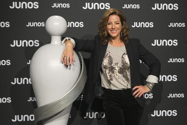 Sarah McLachlan poses for a photo at the Juno Awards nominations event in Toronto on Tuesday, January 29, 2019. The Juno Awards will spotlight a new cohort of unique Canadian musical voices tonight after a year that saw breakout performers in a number of different genres. THE CANADIAN PRESS/Chris Young