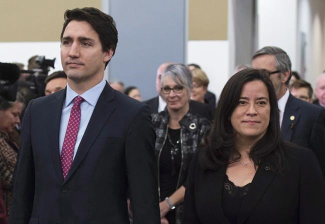 "Prime Minister Justin Trudeau admitted as far back as March, during a news conference, he asked then-Attorney General of Canada Jody Wilson-Raybould if ""she could revisit"" her decision not to overrule the director of public prosecutions on the SNC-Lavalin case."