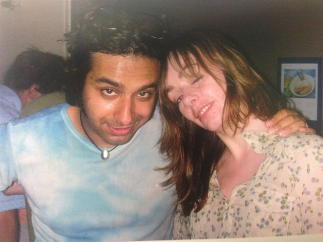 """Lucy DeCoutere and Jian Ghomeshi and shown together in 2003 in this exhibit photograph from Ghomeshi's trial. The unearthing of 13-year-old emails in an attempt to discredit a woman accusing Jian Ghomeshi of sexual assault underscores the growing importance of """"digital debris"""" in criminal and civil trials, experts say.THE CANADIAN PRESS/ho"""
