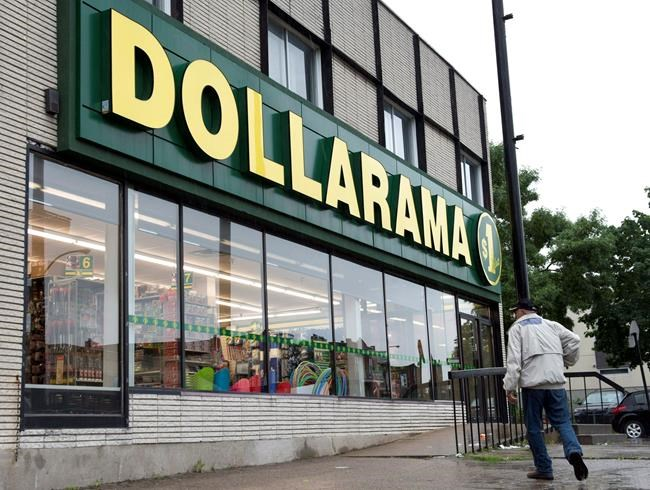 A Dollarama store is seen in Montreal on June 11, 2013. THE CANADIAN PRESS/Paul Chiasson