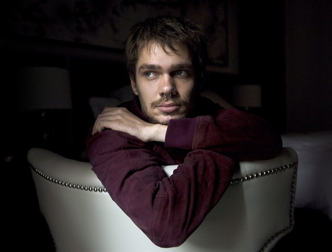 Ellar Coltrane poses for a photograph while promoting