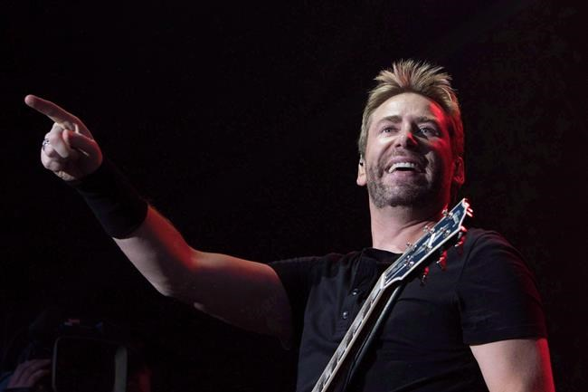 Nickelback frontman Chad Kroeger (Amber Bracken / THE CANADIAN PRESS FILES)
