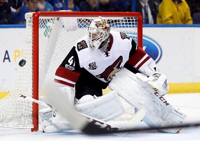 Coyotes to trade goaltender Mike Smith to Calgary