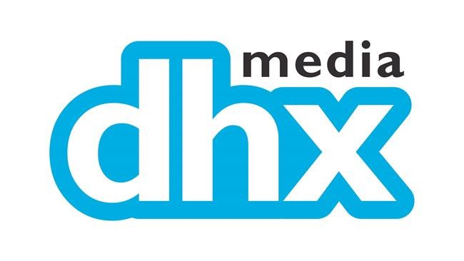 The corporate logo for DHX Media Ltd. (TSX: DHX) is shown. DHX Media Ltd. has signed a deal to sell its Halifax animation studio. THE CANADIAN PRESS/HO