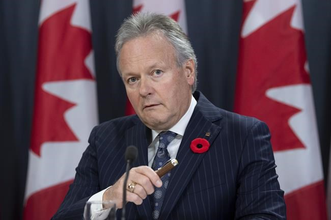 Bank of Canada governor says climate change a risk to finance