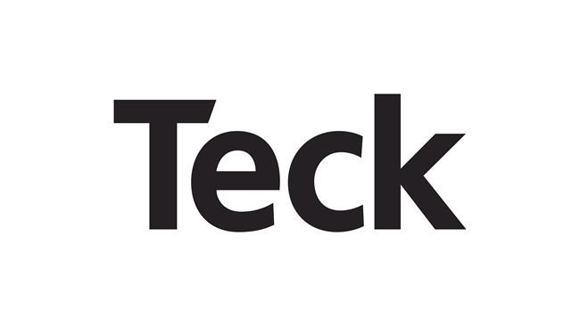 The corporate logo of Teck Resources Limited is shown.  THE CANADIAN PRESS/HO
