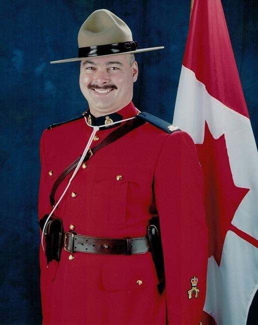 Const. Allan Poapst was killed Dec. 13 in a head-on collision on the Perimeter Highway. (RCMP handout)
