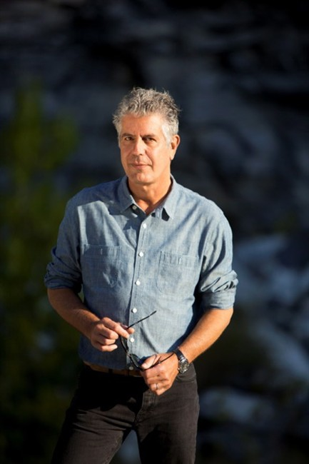 Anthony Bourdain, a celebrity chef turned food writer and journalist acclaimed for his food travel series