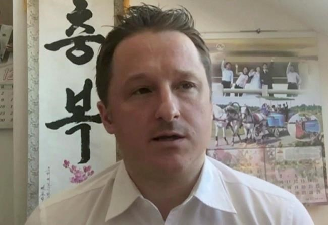 Michael Spavor is an entrepreneur who arranged travel to North Korea for tourists, athletes and artists. (Associated Press files)