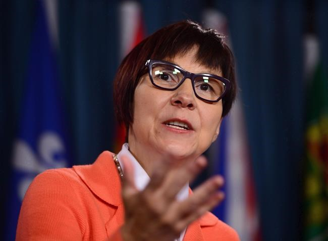 Cindy Blackstock, Executive Director of First Nations Child and Family Caring Society holds a press conference on Parliament Hill in Ottawa on Thursday, Sept. 15, 2016. The federal party leaders' near-silence on Indigenous issues speaks volumes about their importance to Canadian politicians, says Blackstock. THE CANADIAN PRESS/Sean Kilpatrick