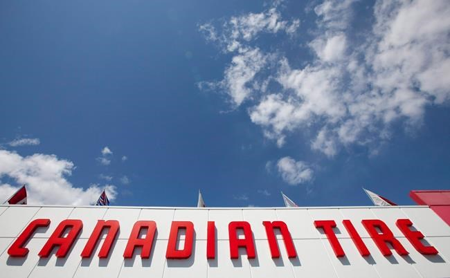 A Canadian Tire store is seen in North Vancouver on May 10, 2012. Canadian Tire Corp. saw profit grow beyond analyst expectations in its most recent quarter, though its revenue missed the mark. The Toronto-based retailer reported profit attributable to shareholders of $334.1 million or $5.42 diluted earnings per share for the quarter ended Dec. 28, 2019. THE CANADIAN PRESS/Jonathan Hayward