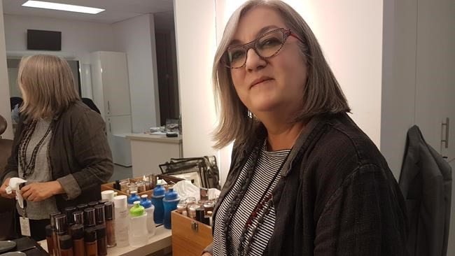 "Makeup artist Geralyn Wraith is shown in this Sept. 29, 2017 handout photo. Acclaimed Canadian makeup artist Geralyn Wraith, who was an integral part of homegrown shows including ""The Kids in the Hall"" and ""Kim's Convenience,"" has died. ""Kim's Convenience"" star Jean Yoon tells The Canadian Press that Wraith died Friday in hospital in Toronto after an illness. THE CANADIAN PRESS/HO - Jeannie Lee"