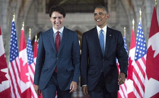 Obama weighs in on Canadian election