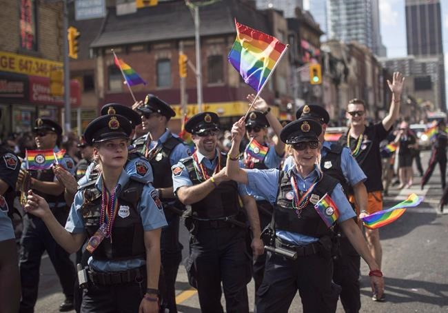 Police union wants Pride funding pulled