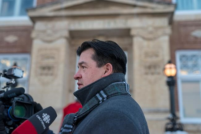 At the beginning of Stanley's trial, the Federation of Sovereign Indigenous Nations called on the federal government to make it mandatory for juries to include First Nations people. Federation of Sovereign Indigenous Nations Chief Bobby Cameron speaks to media the Court of Queen's Bench as the jury is in deliberation in the trial of Gerald Stanley, the farmer accused of killing Colten Boushie, a 22-year-old Indigenous man, in Battleford, Sask., Friday, February 9, 2018. THE CANADIAN PRESS/Liam Richards