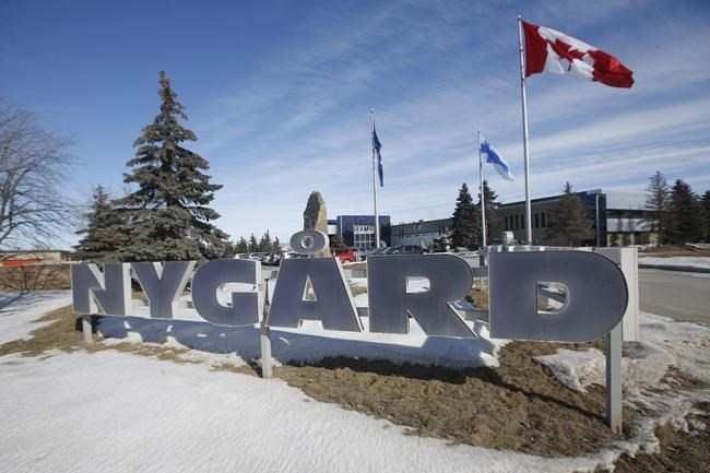 The Nygard headquarters is shown in Winnipeg on February 26, 2020. THE CANADIAN PRESS/John Woods
