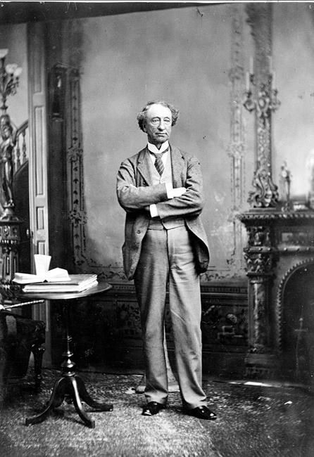 John A. Macdonald was absent from the talks twice.