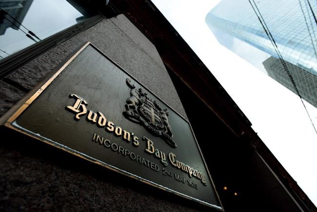 The flagship Hudson's Bay Company store is pictured in Toronto on January 27, 2014. The Hudson's Bay Company says it will no longer carry Ivanka Trump's clothing line at its stores and has already dropped the brand from its website. The company says in a statement that it will phase out the brand at its stores throughout the fall. THE CANADIAN PRESS/Nathan Denette