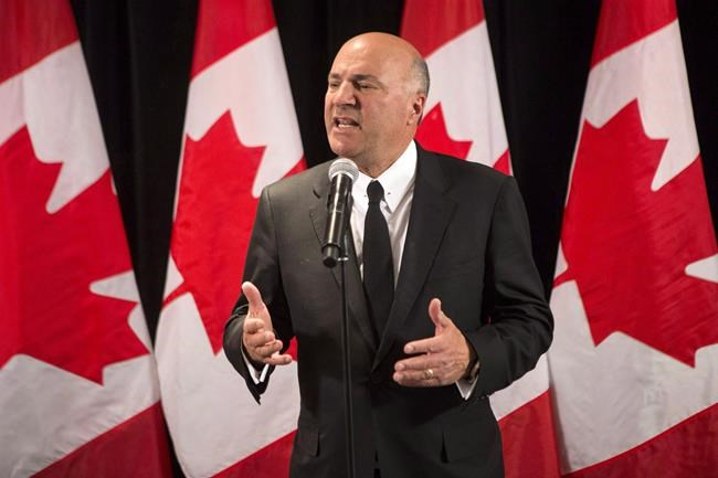 Kevin O'Leary to quit Conservative leadership race, support Maxime Bernier