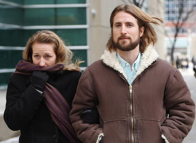 THE CANADIAN PRESS FILES David and Collet Stephan leave for a break during their appeals trial in Calgary on March 9, 2017. The Supreme Court of Canada has set a tentative hearing date for the parents of an Alberta toddler who were convicted after they failed to seek medical attention for their son who died of bacterial meningitis.