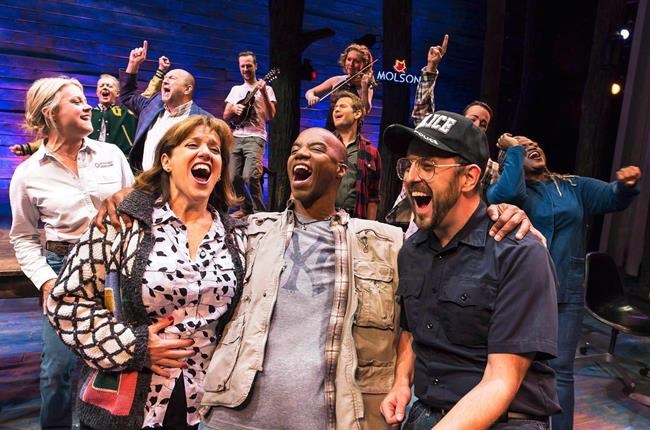 "The cast of ""Come From Away,"" is shown in a 2016 handout photo.China is set to get a taste of Newfoundland charm as ""Come From Away"" heads to its first non-English-speaking country in 2020.THE CANADIAN PRESS/HO-Matthew Murphy, *MANDATORY CREDIT*"