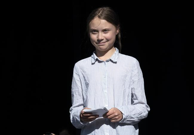 Swedish activist and student Greta Thunberg (Paul Chiasson / THE CANADIAN PRESS FILES)