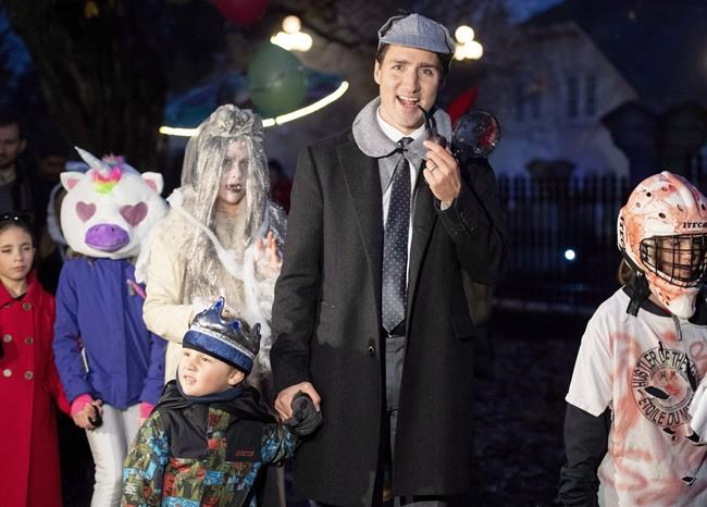 No Halloween photo ops for Trudeau this year