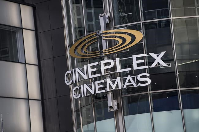 Cineplex theatre at Yonge and Eglinton in Toronto on Monday December 16, 2019. Cineplex Inc. shareholders overwhelmingly approved a $2.8-billion agreement that would see the theatre company taken over by U.K.-based Cineworld Group PLC. THE CANADIAN PRESS/Aaron Vincent Elkaim