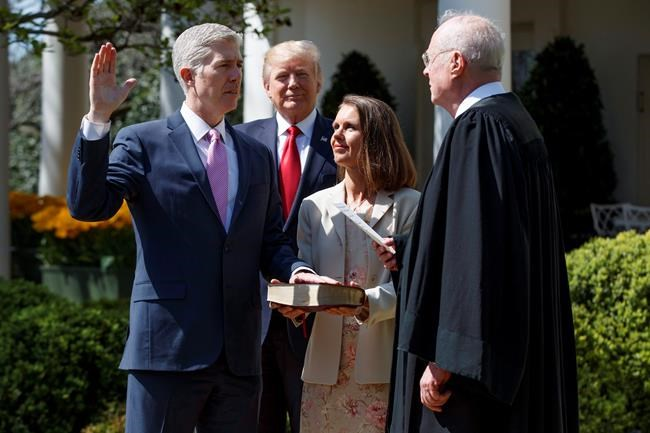 Gorsuch Jumps Right in During Supreme Court Debut